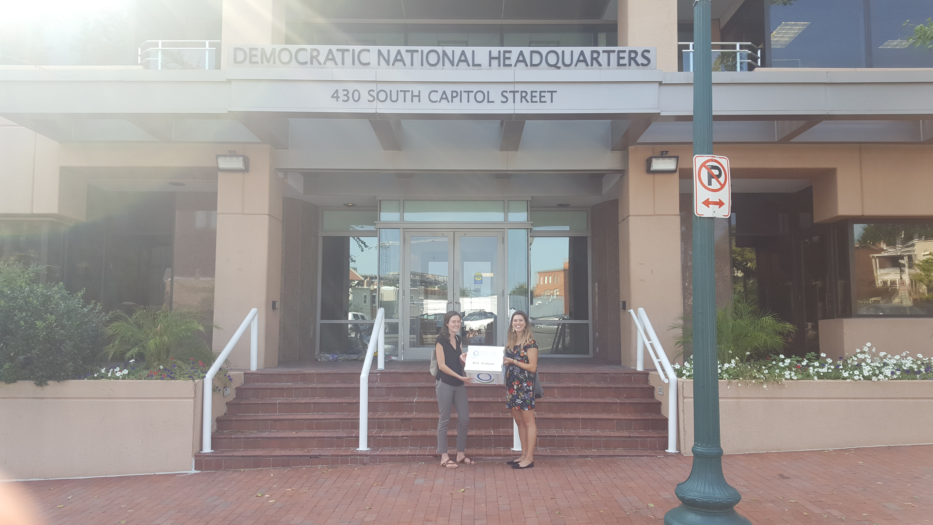 DNC Petition Delivery